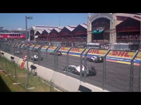 Standing 5 meters from the start of a Formula One race (best V8 sound)