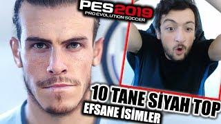 İNANILMAZ !!! 10 TANE SİYAH TOP ÇIKARTTIM !! Pes 2019 Top Açılımı