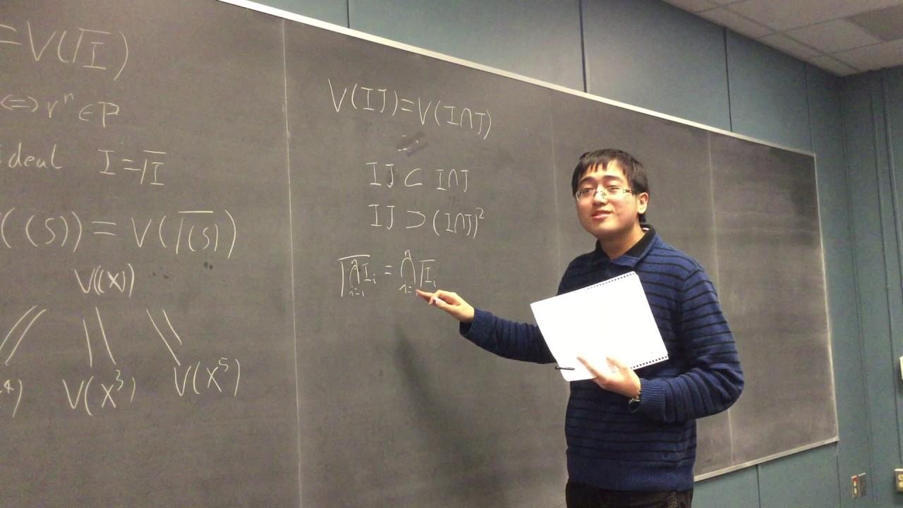 Algebraic geometry seminar stanford