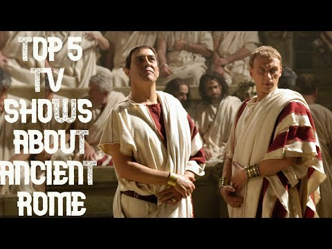 Top 5 TV Shows About Ancient Rome