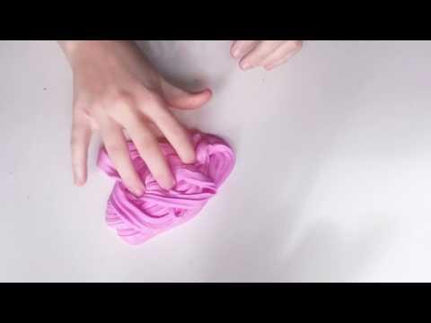 DIY SLIME Pink Unicorn Poop FLUFFY SLIME!!