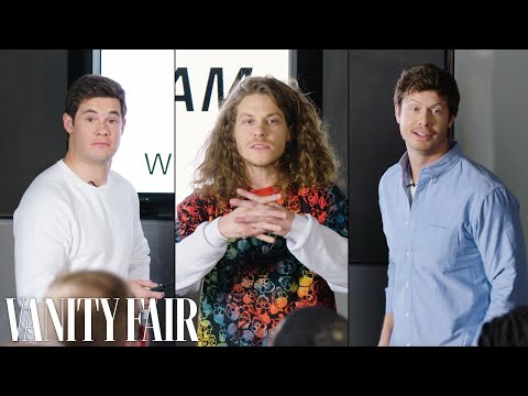 Workaholics Cast Improvises a PowerPoint Presentation  Vanity Fair