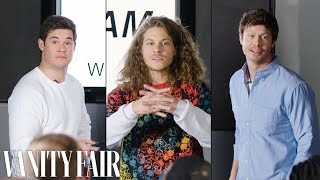 Workaholics Cast Improvises a PowerPoint Presentation | Vanity Fair thumbnail