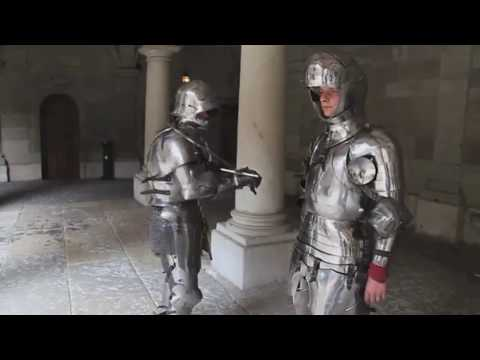 15th century knights and dank baroque music