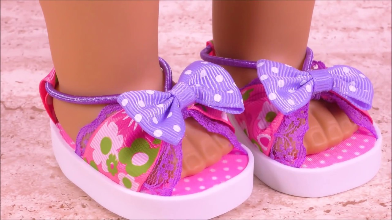 1a3a13ec61197 DIY AG Doll Shoes ~ American Girl Doll Shoes