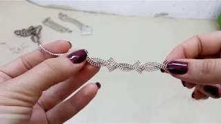 видео Колье серебряные