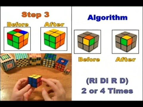 How to Solve the 2x2 Rubik's Cube