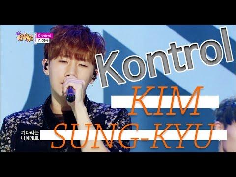 [Comeback Stage] KIM SUNGKYU - Kontrol, 김성규 - 컨트롤, Show Music core 20150516