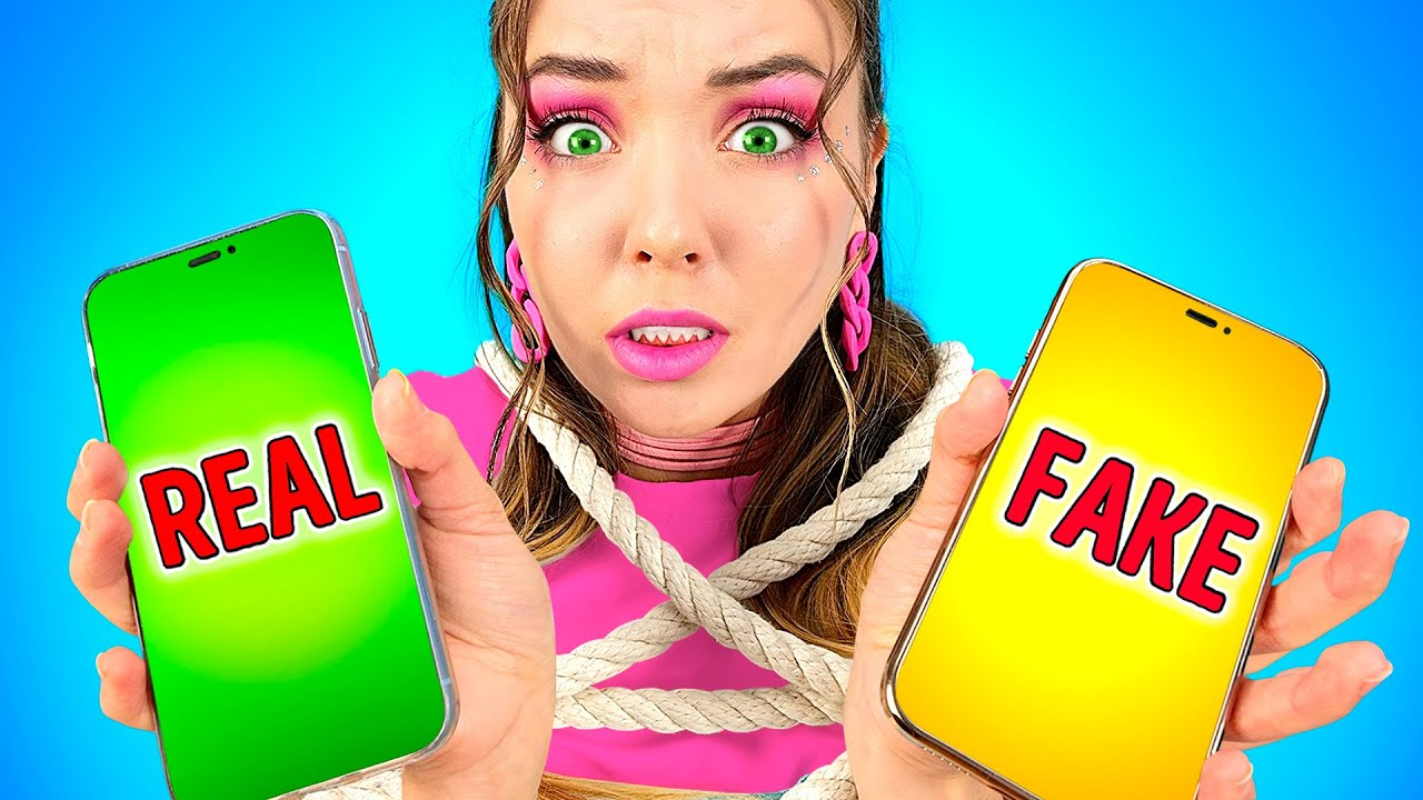 FAKE Friend vs REAL FRIEND – Good and Evil friends relatable musical by La La Life