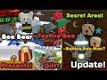 Christmas Update! Festive Bee! Bee Bear? Presents! Secret Areas! Free Gifts! - Bee Swarm Simulator