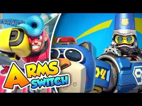 ¡Así son: BYTE Y BARQ! GUÍA - #16 - ARMS (Nintendo Switch) D
