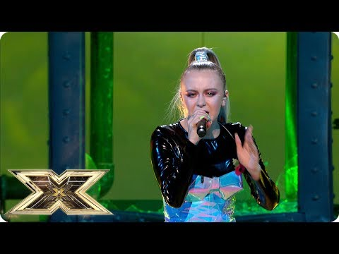 Molly Scott kicks off Fright Night with Toxic | Live Shows Week 3 | The X Factor UK 2018