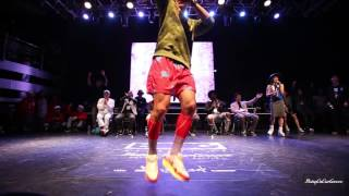 All Age Side Best16 8 Boogie Tie vs HOAN | 20151024 Being On Our GROOVE Vol.3 Popping 1 on 1 BATTLE