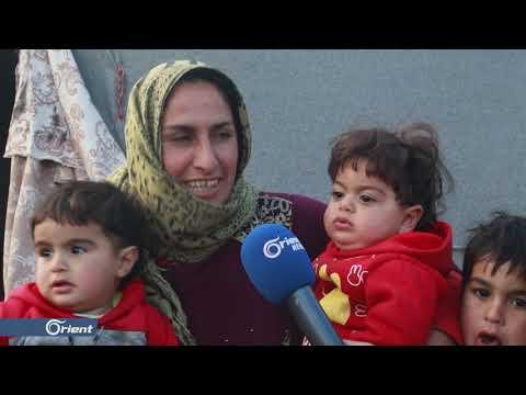 الأمطار تزيد معاناة النازحين في المخيمات شمال حلب  - 13:53-2018 / 11 / 16