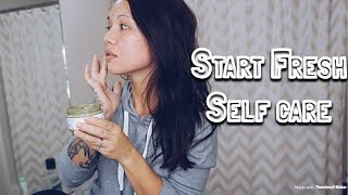 Sunday Self Care| How I Take Some Time To Get Ready For The Week| Collab With Teami Blends
