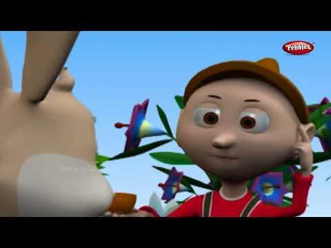 Mr Bunny Rabbit Nursery Rhyme With Animated Lyrics | Nursery Rhyme | Baby Rhymes | Nursery Poems