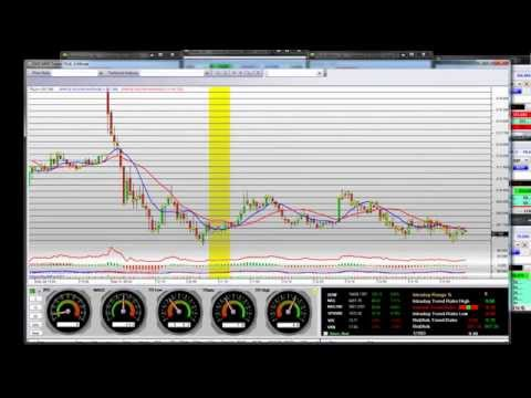 Live High Frequency Trading TSLA Big Short Trade