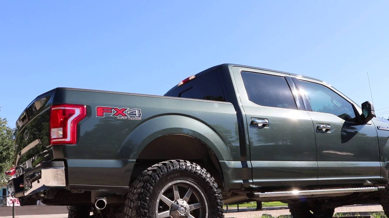 2018 Ford Lightning >> QTP Exhaust Cutout 2015 F150 5.0 - YouTube