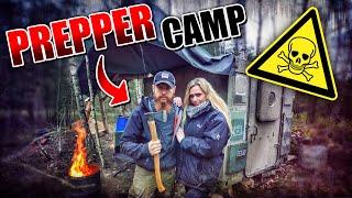 DAMENBESUCH im - Prepper Camp #008 | Fritz Meinecke