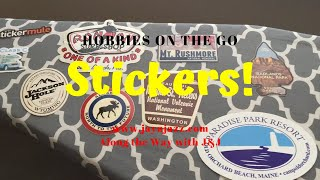 Hobbies On The Go - Sticker Collecting - RV Hobbies - RV Sticker Club