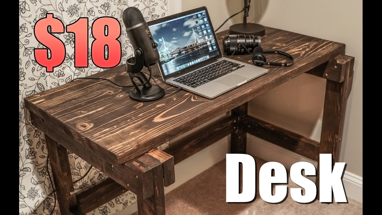 Building another cheap desk youtube for Cheapest way to build a building