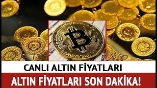 30 TEMMUZ 2021 ALTIN FİYATLARI (22Ayar Bilezik Çeyrek Altın Gramaltın Gümüş Dolar)CANLI ALTIN FİYATI