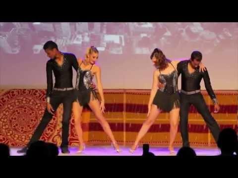 Atelier Chorégraphie Salsa Porto GALA 2015 avec Marseille Danse Academy