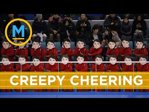 North Korea's cheer squad is creeping people out | Your Morning