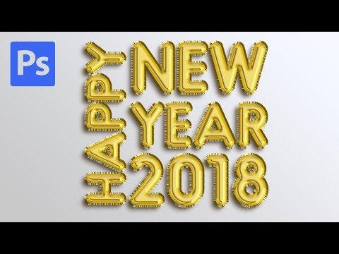 Photoshop Tutorial #7 Foil Balloon ( G Tutorial ) - YouTube