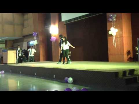 awesome freshers amity business school 2013 MBA HR GROUP college performance dance ABS
