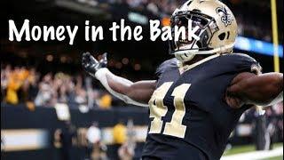 "Alvin Kamara 2017 Rookie Mix ""Money In The Bank"""