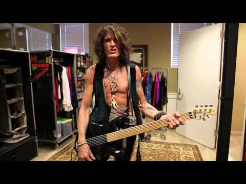 Joe Perry and His Guitar