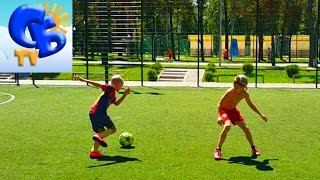 Футбольный Челлендж 1 НА 2 Football Challenge 1 VS 2