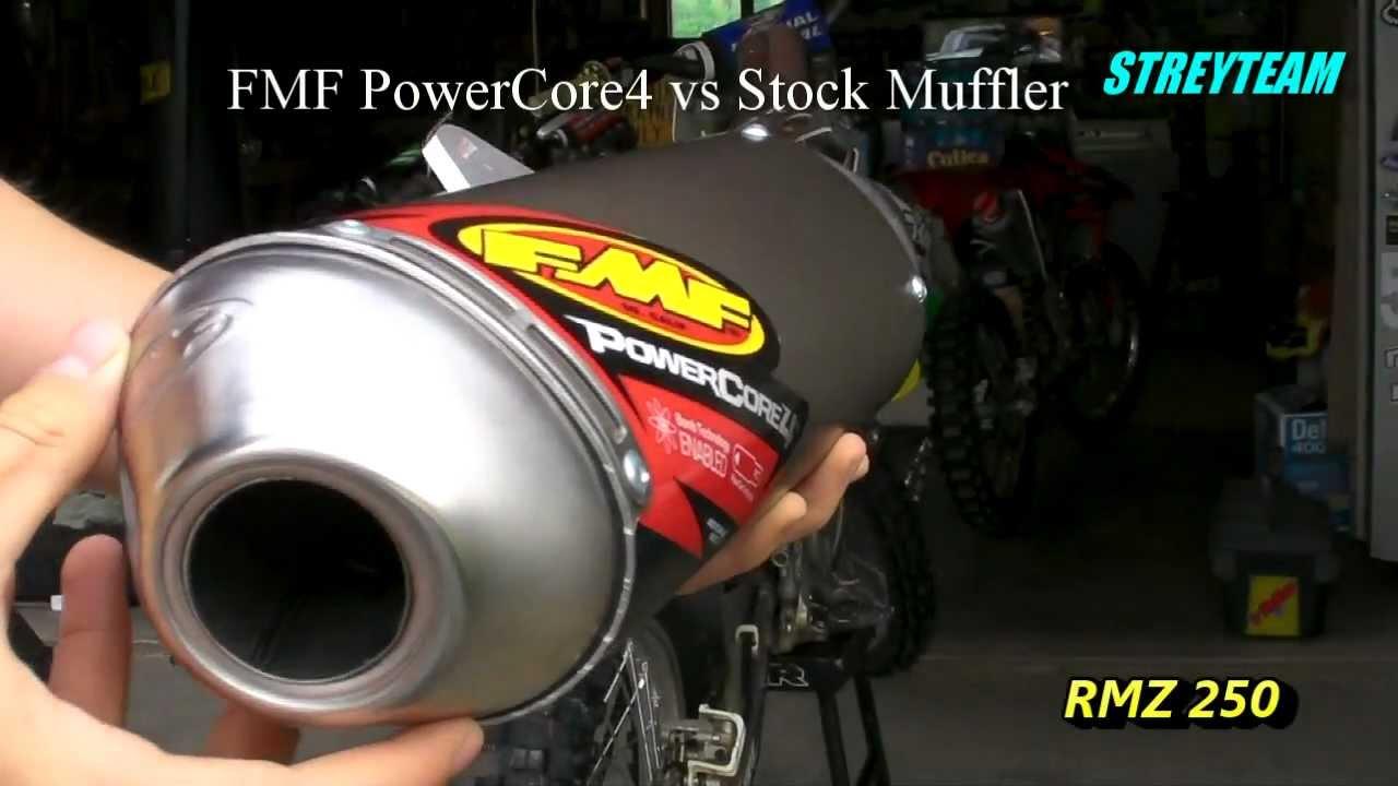 10 FMF Powercore 4 Slip-On Exhaust 08-19 YAMAHA XT250 4-Stroke