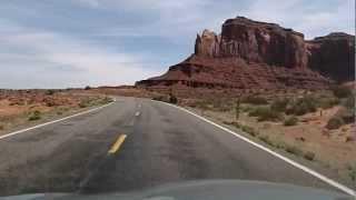 U.S. Route 163 Scenic Byway in Arizona and Utah