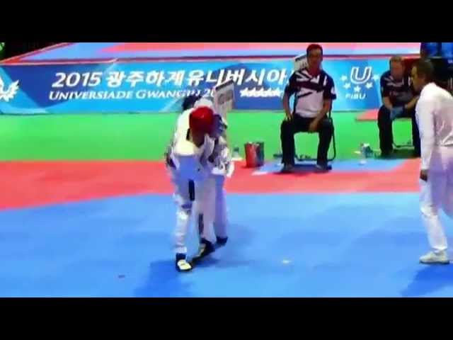 adidas Taekwondo korea is all in 광주유니버시아드 2015 0721
