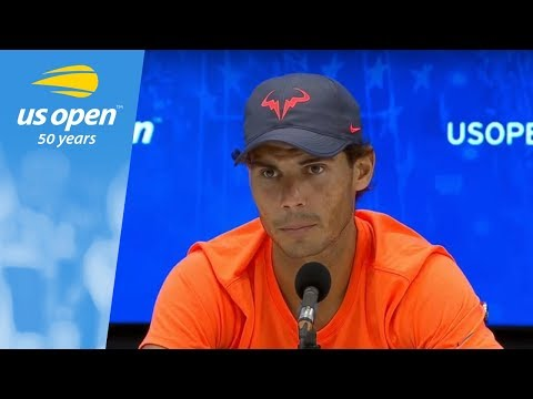 2018 US Open Press Conference: Rafael Nadal