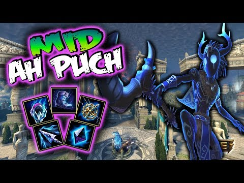 Smite   Ah Puch Build And Guide - Go Away Merc!!   Smite Season 5 Gameplay