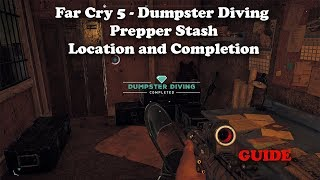 Far Cry 5 - Dumpster Diving Prepper Stash - Location and Completion