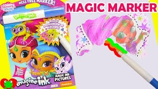 Shimmer and Shine Magic Marker Imagine Ink Coloring