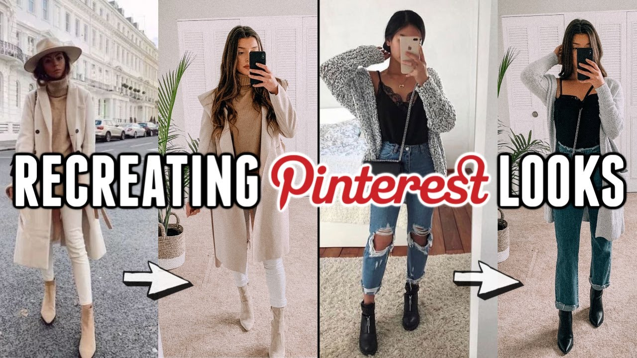 [VIDEO] - Recreating Cute Pinterest Fall Outfits (from my closet) 2
