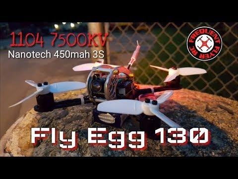 ChopShop UFO Kingkong Fly Egg with 1104 7500KV Motors