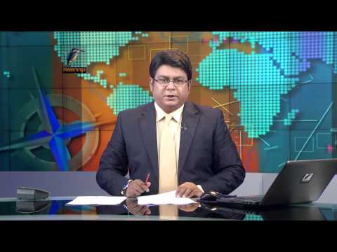 7pm Maasranga News with Shamsuddin Haider Dalim, October 2014