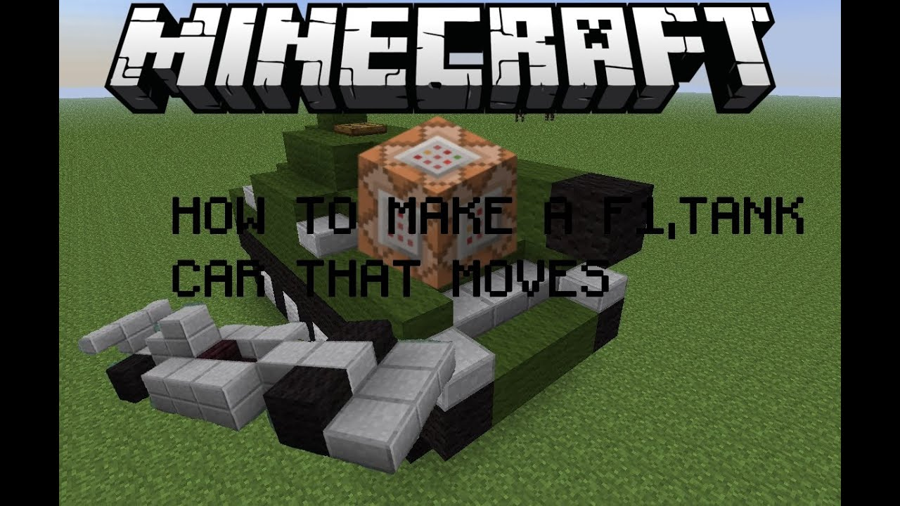 HOW TO MAKE A CAR WITH COMMAND BLOCK