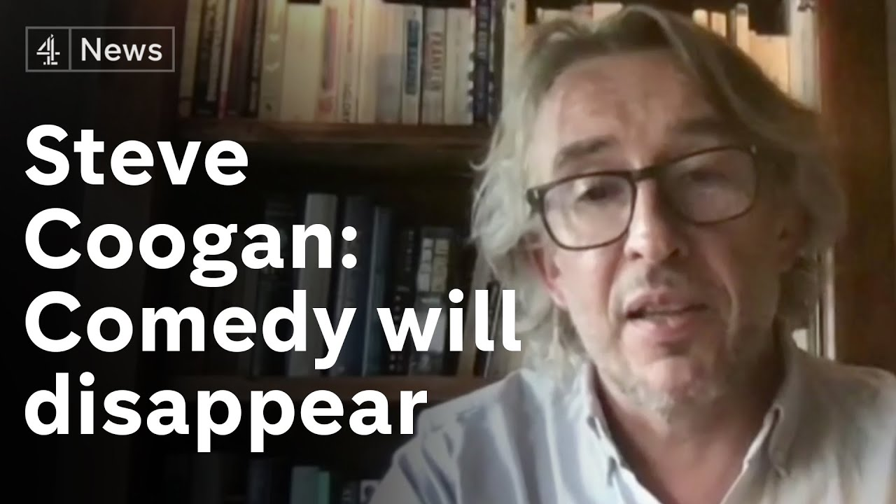 Steve Coogan warns without aid 'We'll find ourselves in ten years time with nothing to laugh at'