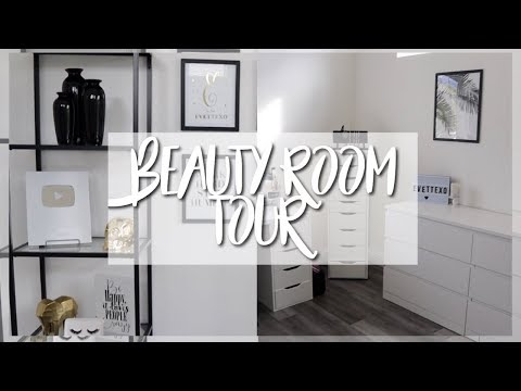 BEAUTY ROOM REVEAL + TOUR || EVETTEXO