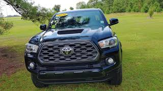 Jerry Bass at Massey Toyota on the 2020 Tacoma TRD Sport for Michael