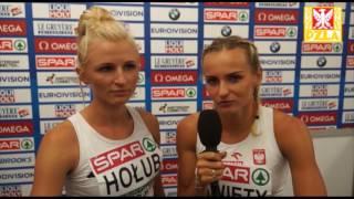 Justyna i Gosia po finale