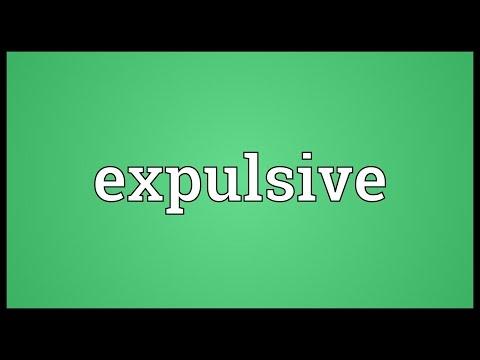 Header of expulsive