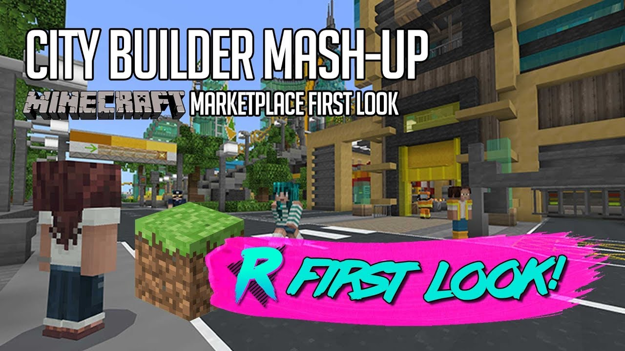 City Builder Mash Up First Look Minecraft Marketplace